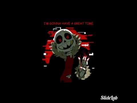 Underfell Sans-skelly heart by dreamreaver23