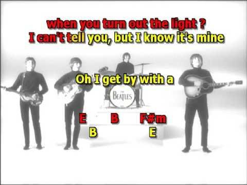 With A Little Help From My Friends Beatles best karaoke instrumental ...