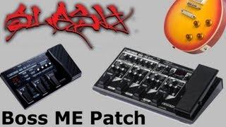 Sound Like Slash! - Boss Multi Effect Patch Tutorial