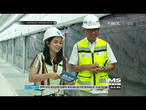 Morning Talk- Pengerjaan MRT Sudah Capai  96,54 % Persen- IMS