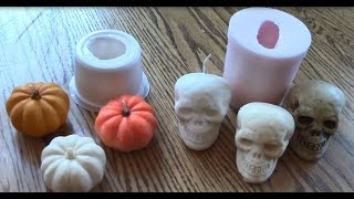 Make Your Own Halloween Soap and Candle Molds by Alumilite