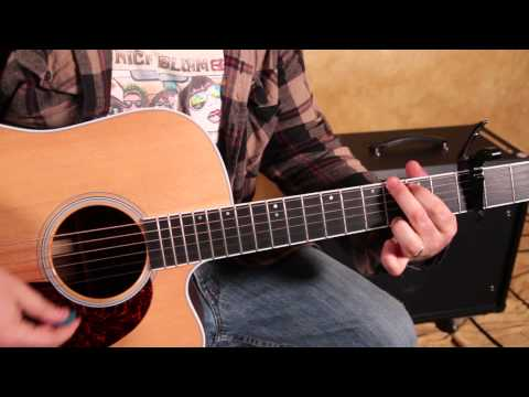 Easy Beginner Acoustic Songs on Guitar - Imagine Dragons - Demons - How to Play