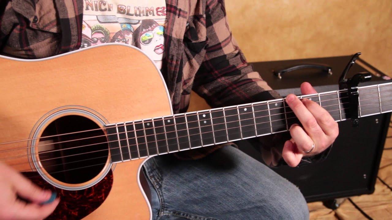 Easy Beginner Acoustic Songs on Guitar - Imagine Dragons ...