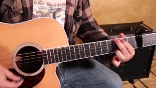 Easy Beginner Acoustic Songs on Guitar - Imagine Dragons - Demons - How to Play