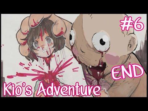 Kio's Adventure #6 ฉากจบที่ค๊ดทำร้าย ; w ; !!  (END + All CG ฉากตาย) (Violent Horror game)