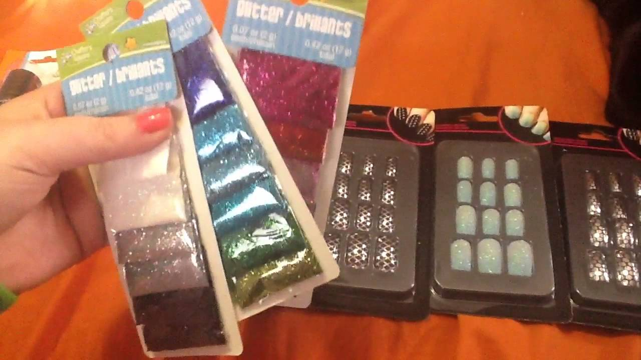 Fave Dollar Tree Haul: All About Nails - YouTube