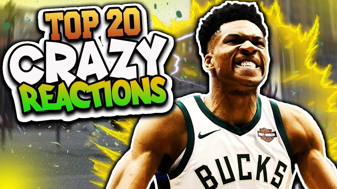 TOP 20 Wild & Crazy Reactions - NBA 2K18 Highlights & Funny Moments