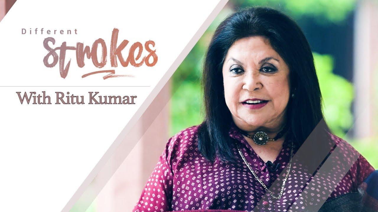 Different Strokes Ritu Kumar On Dressing Up Sushmita And Aishwarya Youtube