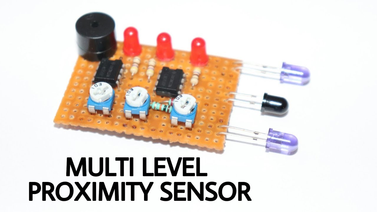 Multi Level Proximity Sensor How To Make Lm358nlow Power Dual Operational Amplifiers