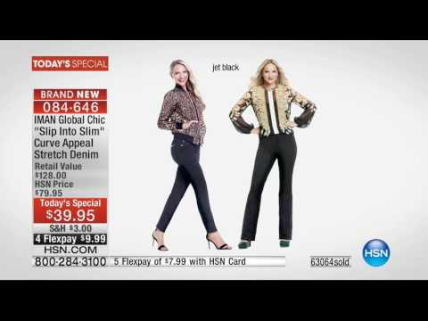 HSN | IMAN Global Chic Fashions 08.27.2016 - 05 PM