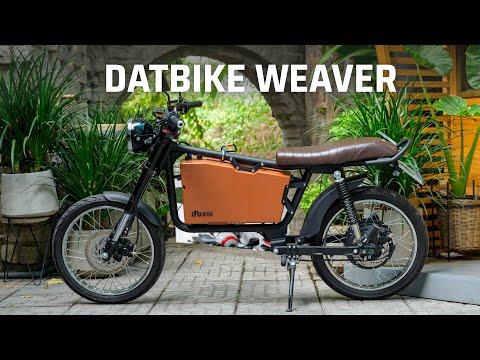 Đánh giá xe máy điện Datbike Weaver