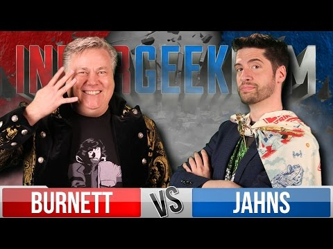 Jeremy Jahns VS Robert Meyer Burnett   InnerGeekDom Movie Trivia Schmoedown