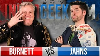 Jeremy Jahns VS Robert Meyer Burnett  - InnerGeekDom Movie Trivia Schmoedown