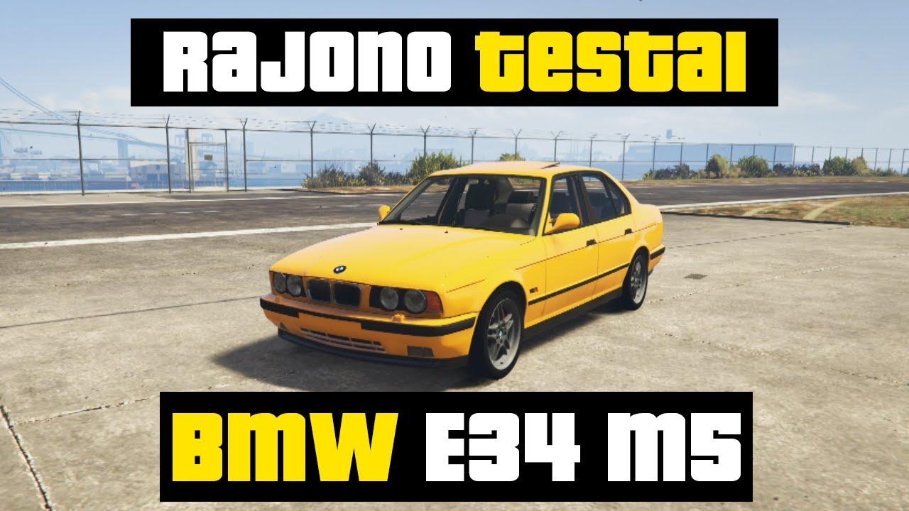Rajono Testai: BMW E34 M5 // GTA 5
