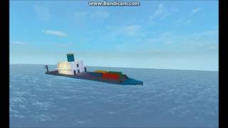 Demonstração da física de Roblox: navios naufragando