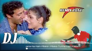 Dj '' Jana na nain milake meri akhiyon se nindiya churake | special dholki mix | hindi dj remix 2018