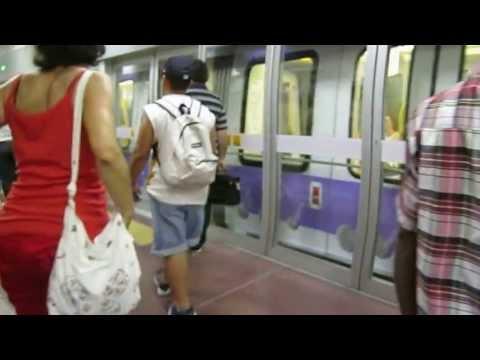 Metro 5 , part1 in Milano , Italia