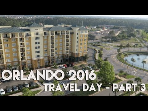 ORLANDO & FLORIDA VLOG | TRAVEL DAY - PART 3 | LAKE BUENA VISTA RESORT VILLAGE & SPA - 2016