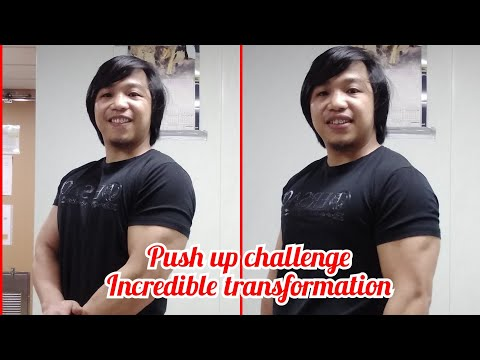 100 Daily push up challenge first week update.
