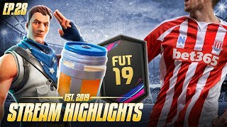 FIFA PACKS, FORTNITE and GTA 5 TROLLING - Nick28T Stream Highlights #28