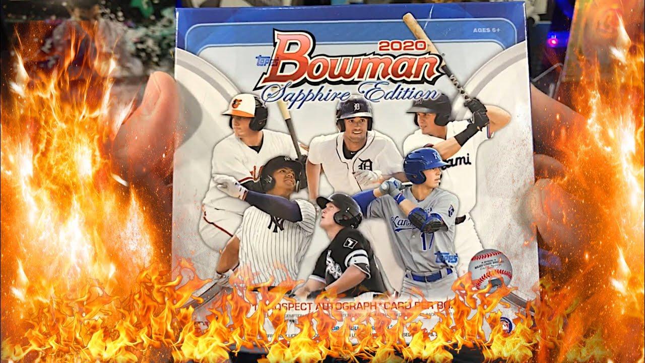2020 Bowman Sapphire Banger Box!!!