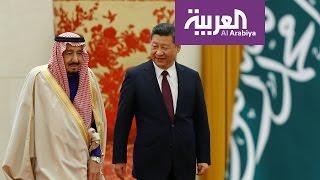 الرئيس الصيني يستقبل الملك سلمان بن عبد العزيز في بكين