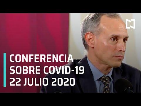 Conferencia Covid-19 en México - 22 julio 2020
