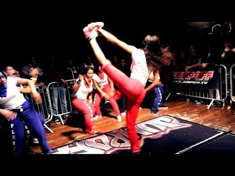 CREW DANCE: IMD Legion vs Flexy Squad - Crew Dance Battle - The Jump Off 2014