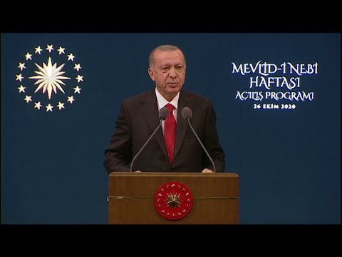 أردوغان يتهم فرنسا بالإساءة إلى الإسلام ويدعو لمقاطعة منتجاتها