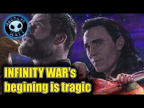 INFINITY WAR's beginning is apparently tragic
