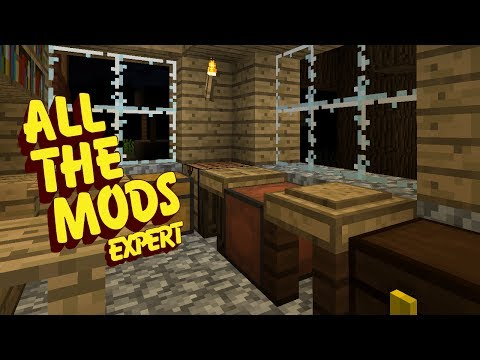All The Mods Expert Mode - FLINT [E02] (Minecraft Expert Mod Pack)