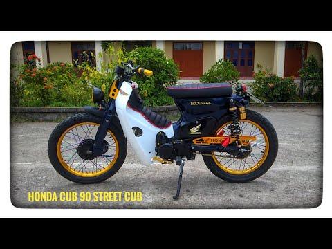 Honda Cub 90 độ phong cách Street Cub | BeePro