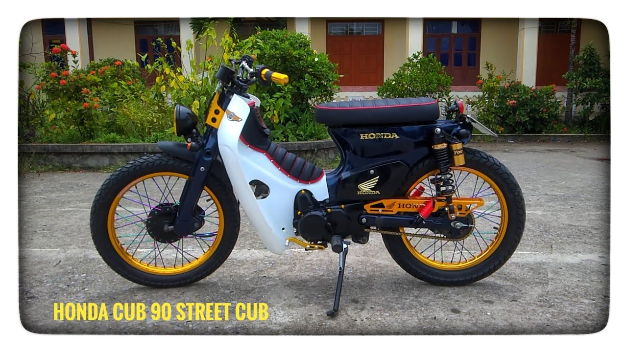 Honda Cub 90 độ phong cách Street Cub   BeePro