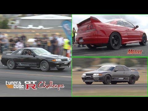 2016 GT-R Challenge - Australia's quickest street GT-Rs hit the runway