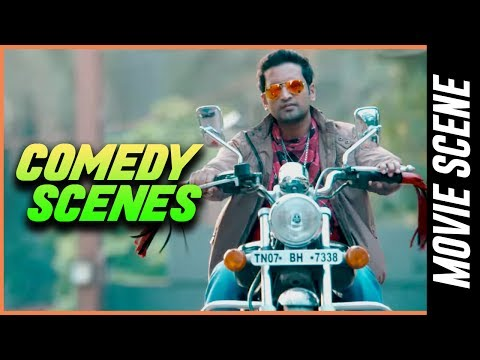 Theeya Velai Seiyyanum Kumaru - Comedy Scenes   Siddharth    Santhanam    Hansika   Sundar . C