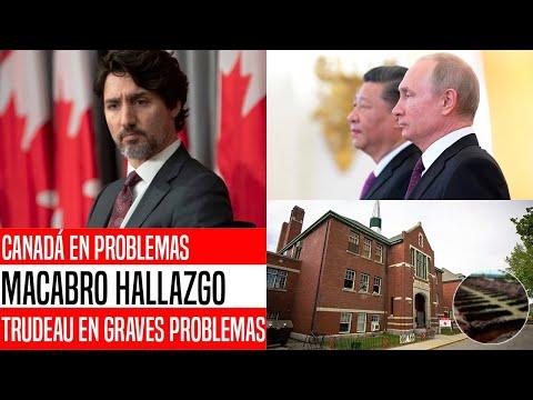 NO VAS A CREERLO! REVELAN TERRIBLE SECRETO DE CANADIENSES. CHINA Y RUSIA ALISTAN CASTIGO. NOTICIAS