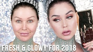 Fresh and Simple Everyday Makeup Tutorial! 2018