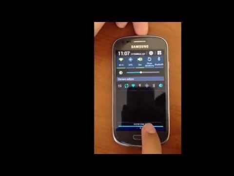 Samsung Galaxy S3 Mini I8200 da pil yüzdesi Aktif Etme ( Rootsuz )