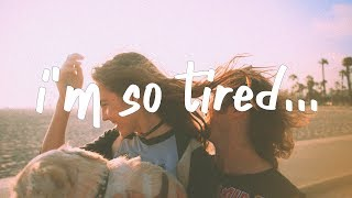 Lauv, Troye Sivan - i'm so tired... (Lyric Video)