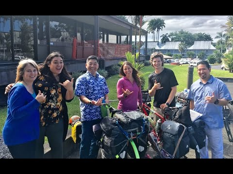 Bicycle Touring Ep. 19: Big Island of Hawai'i (Part 1 of 2)