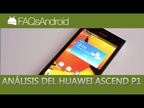 Análisis del Huawei Ascend P1 en español | FAQsAndroid.com