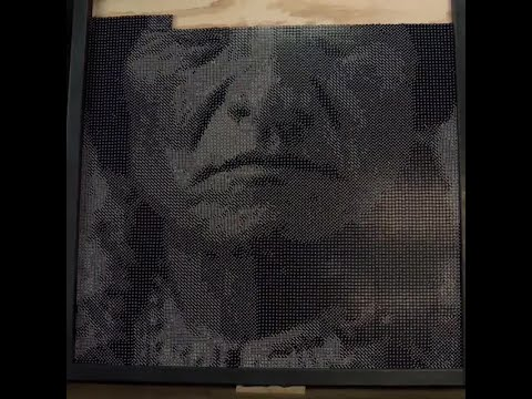 Oklahoma Artist Uses Dice To Create Unique Art Of Native American Icon