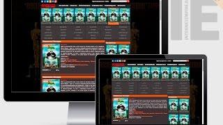 Шаблон HDKinomiR на тематику Кино для uCoz