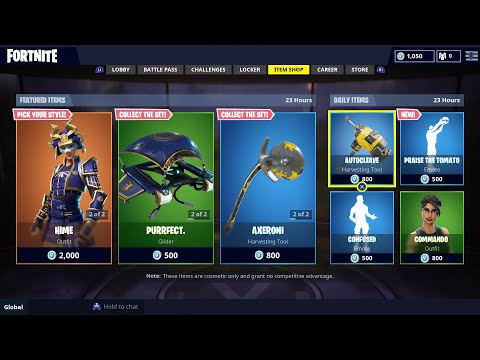 Fortnite - Item Shop August 23rd 2018! NEW Daily Item Shop!