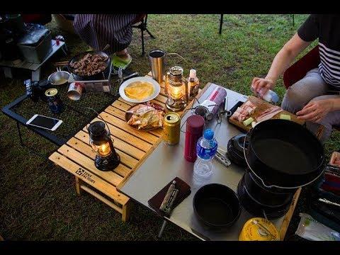夫婦の夏休み 4泊5日で行くキャンプ旅行① in滋賀 豪雨と雷