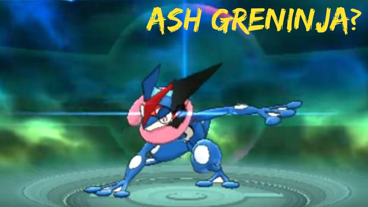Hacked Ash Greninja In Pokemon Oras Thoughts And Speculation