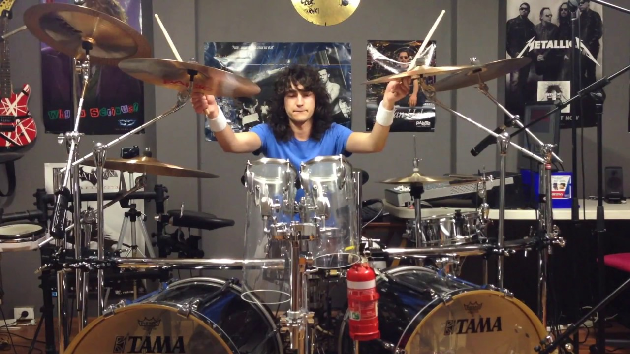 Van Halen 5150 Cover Isolated Drums Youtube