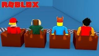 ROBLOX EPIC MINI GAMES-ESCORREGADIO SLIDE BOX RACING NO LITTLECLUB