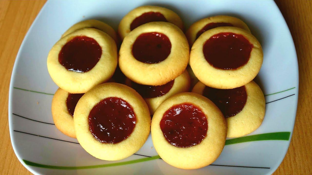 Детское печенье с вареньем — 3