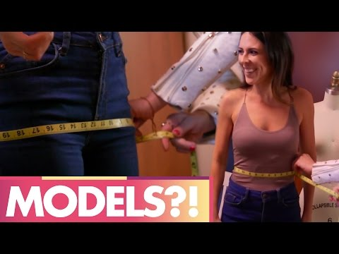 BECOMING FASHION MODELS?!  (Beauty Trippin)